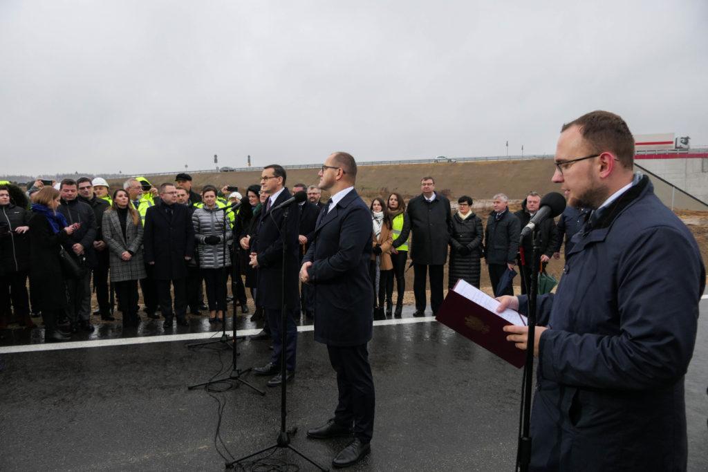 W otwarciu uczestniczył premier Mateusz Morawiecki